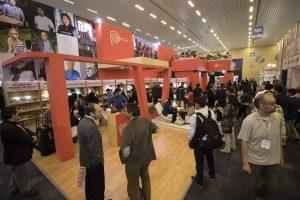 Inauguración del stand de Perú durante la edición 30 de la Feria Internacional del Libro en Guadalajara